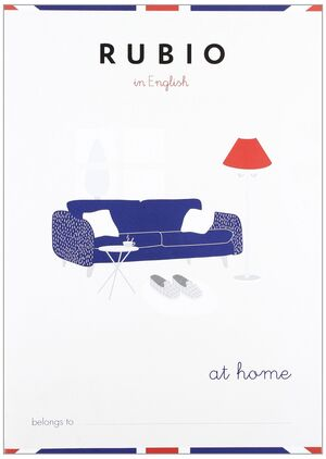 CUADERNO RUBIO A5 ENGLISH AT HOME