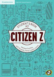 CITIZEN Z A2 STUDENT'S BOOK WITH AUGMENTED REALITY