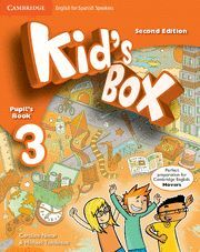 KID'S BOX FOR SPANISH SPEAKERS  LEVEL 3 PUPIL'S BOOK 2ND EDITION