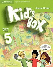 KID'S BOX FOR SPANISH SPEAKERS  LEVEL 5 PUPIL'S BOOK 2ND EDITION