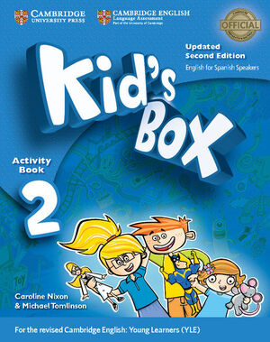 KID'S BOX LEVEL 2 ACTIVITY BOOK WITH CD-ROM UPDATED ENGLISH FOR SPANISH SPEAKERS
