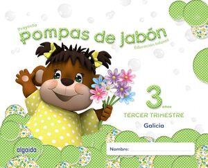 POMPAS DE JABÓN 3 AÑOS. 3º TRIMESTRE. PROYECTO EDUCACIÓN INFANTIL 2º CICLO