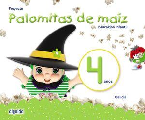 PROYECTO PALOMITAS DE MAÍZ. EDUCACIÓN INFANTIL. 4 AÑOS
