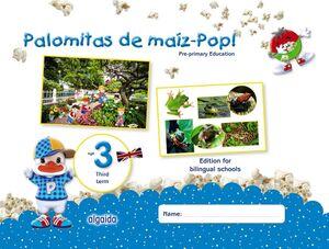 PALOMITAS DE MAÍZ-POP!. PRE-PRIMARY EDUCATION. AGE 3. FIRST TERM