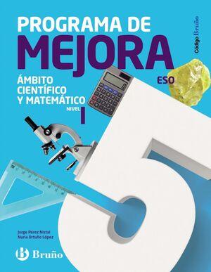 PROGRAMA DE MELLORA. ÁMBITO LINGÜÍSTICO E SOCIAL. NIVEL 1