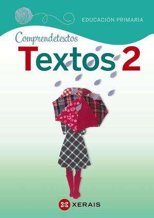 TEXTOS 2, EDUCACIÓN PRIMARIA, PROXECTO COMPRENDETEXTOS