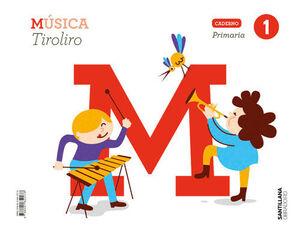CADERNO MUSICA TIROLIRO 1 PRIMARIA
