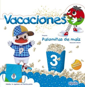 CUADERNO VACACIONES 3 AÑOS (PALOMITAS DE MAIZ)