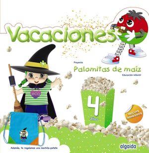 CUADERNO VACACIONES 4 AÑOS (PALOMITAS DE MAIZ)