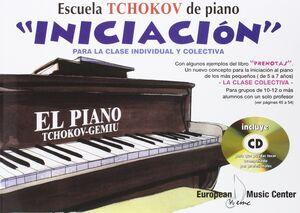 EL PIANO. INICIACION. LIBRO  + CD