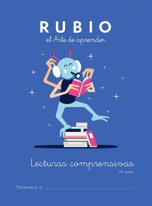 CUADERNO RUBIO A5 LECTURAS COMPRENSIVAS + 6 AÑOS