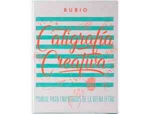 LIBRO CALIGRAFIA RUBIO CREATIVA 1 150 PAGINAS TAPA DURA 27X21 CM