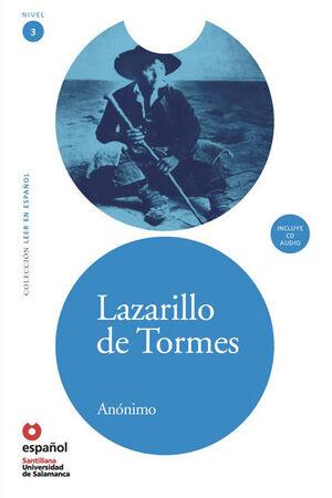 LEER EN ESPAÑOL NIVEL 3 LAZARILLO DE TORMES + CD