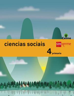 CIENCIAS SOCIAIS 4º PRIMARIA INTEGRADO CELME