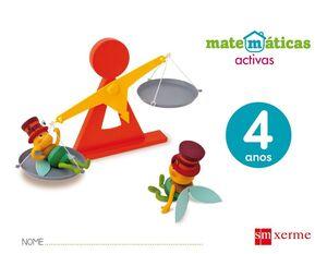 MATEMÁTICAS ACTIVAS. 4 ANOS