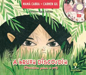 BRUXA DISCORDIA,A. CANCIONS PARA A PAZ (CON CD)