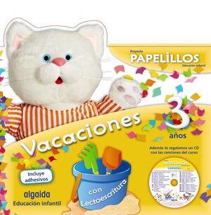 PAPELILLOS 3. CUADERNO DE VACACIONES