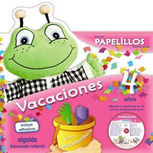 PAPELILLOS 4. CUADERNO DE VACACIONES