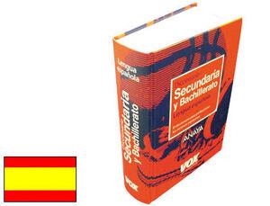 DICCIONARIO VOX SECUNDARIA -ESPAÑOL