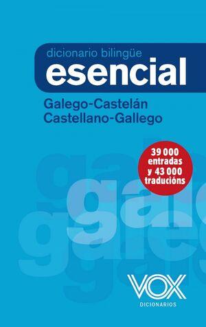 DICCIONARIO ESENCIAL GALEGO/CASTELAN CASTELLANO/GALLEGO