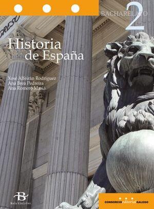 HISTORIA DE ESPAÑA 2º BACH.