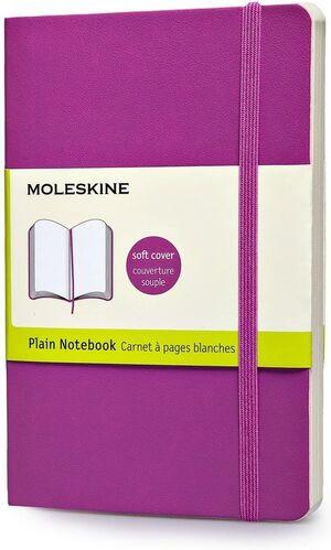 CUANDERNO MOLESKINE PLAIN CLASSIC SOFTTORCHID PURPLE