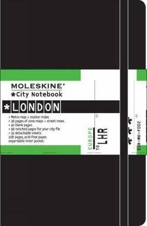MOLESKINE CITY NOTEBOOK LONDRES